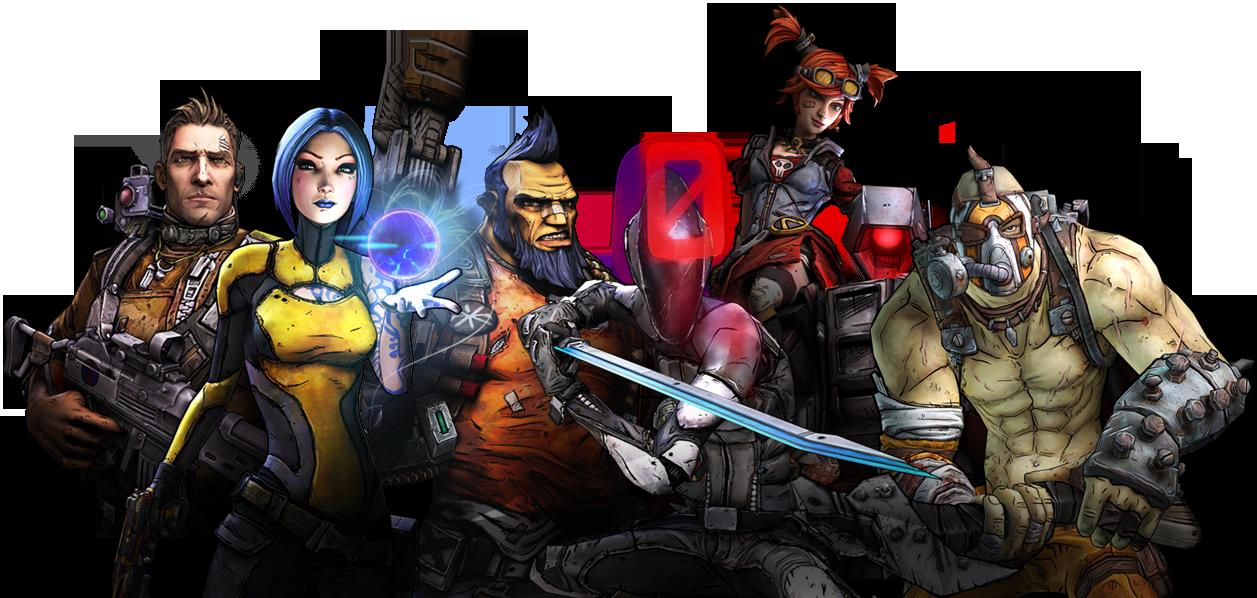 Gaming Borderlands Character Backstory